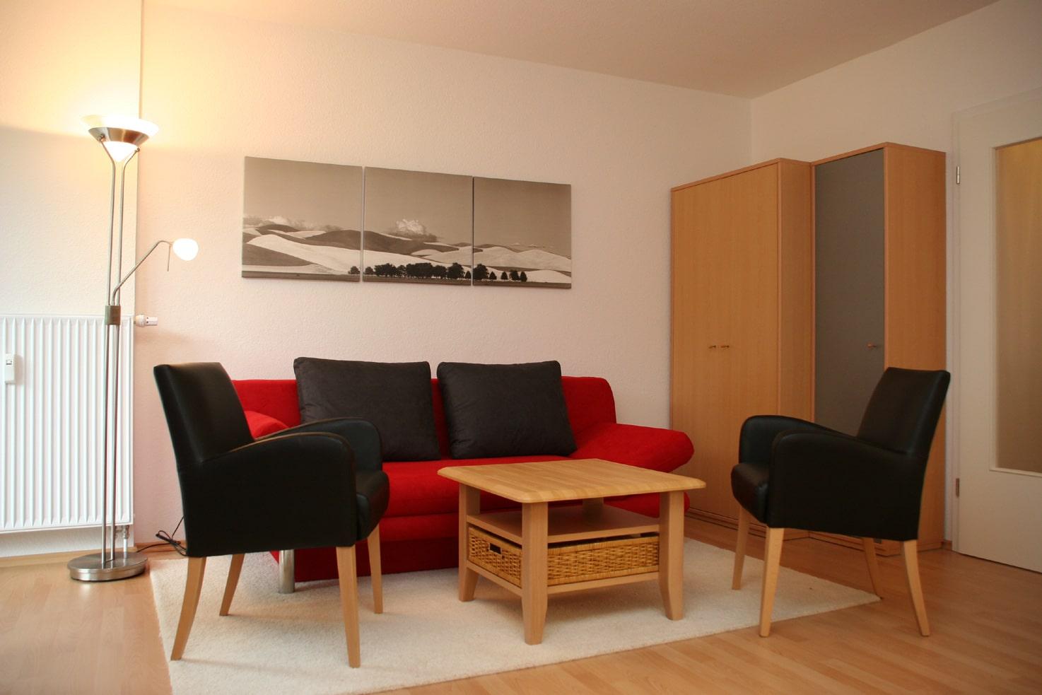 Gaestewohnungen - Wohnzimmer