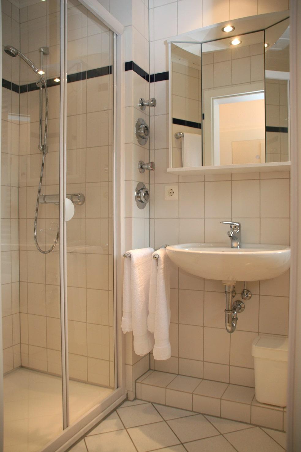 Gaestewohnungen - Badezimmer