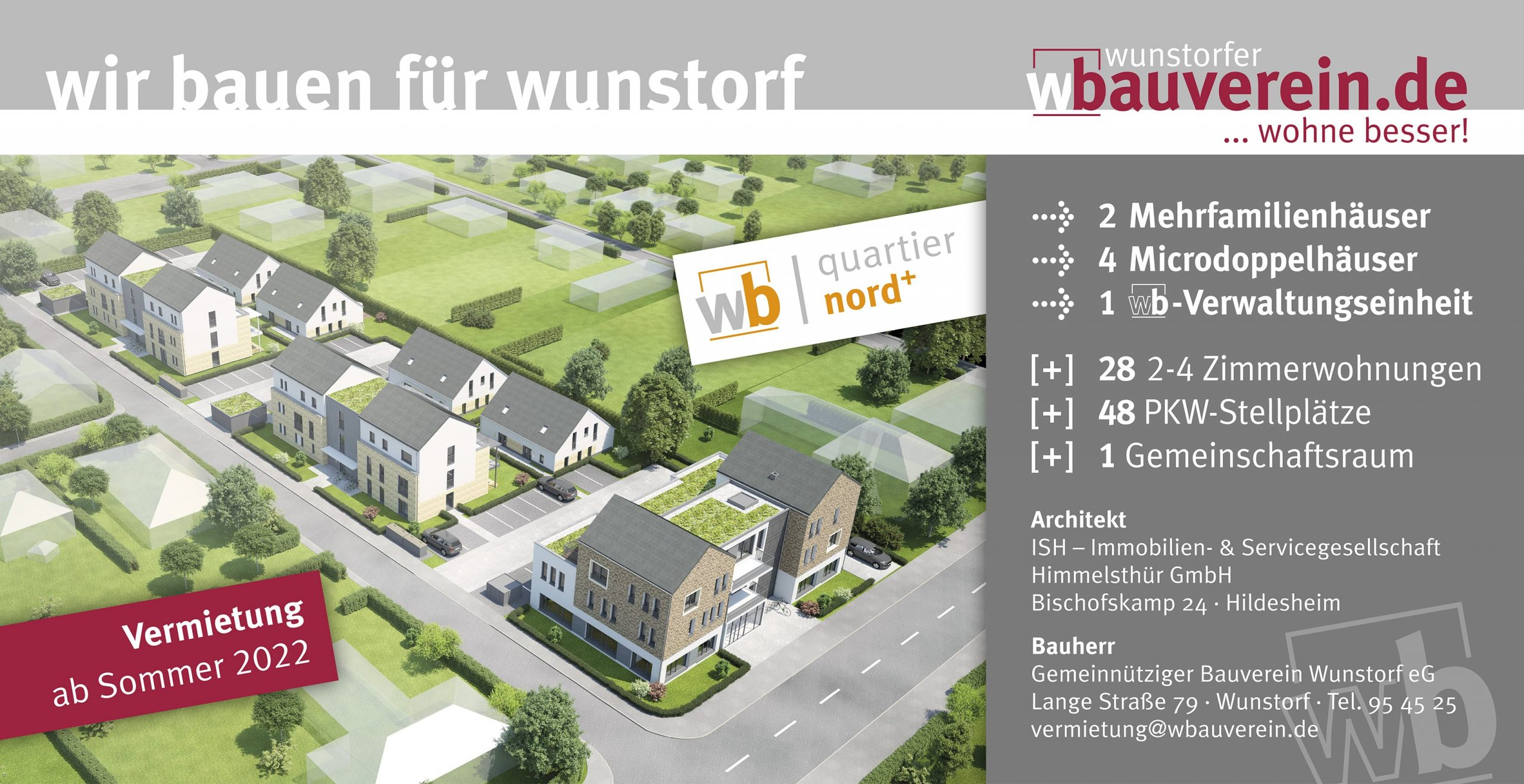 Bauprojekte - Quartier nord⁺